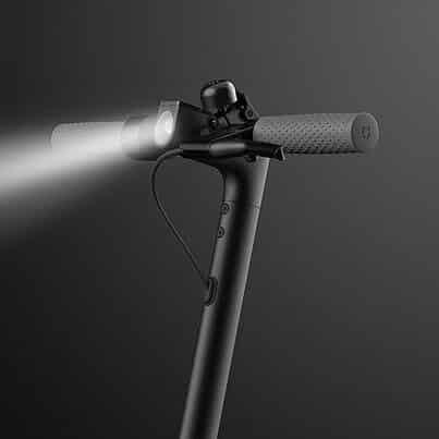 Elsparkcykel belysning